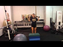 Embedded thumbnail for Step-Up Shoulder Press