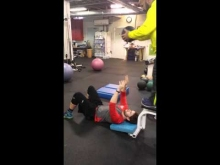 Embedded thumbnail for Medicine Ball Supine Toss with Mikey O'Brien