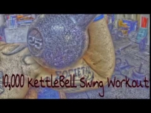 Embedded thumbnail for Dan John 10,000 KettleBell Swing Workout Week 1