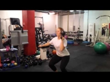 Embedded thumbnail for Bottom Up Single Arm Squat Shoulder Press